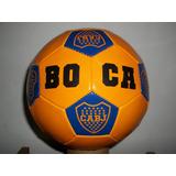 Pelota Boca River Fútbol Nº 5 Escudos Económica