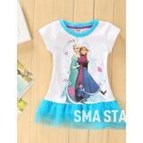 Vestido Fantasia Infantil Frozen Elsa Anna Pronta Entrega!!