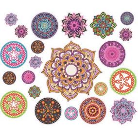 Mandalas Set De Mandalas Autoadhesivas Vinilos Decorativos
