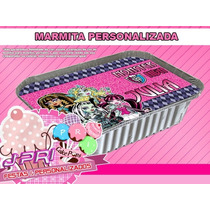 Marmitinha Personalizada - Monster High - 10 Und.
