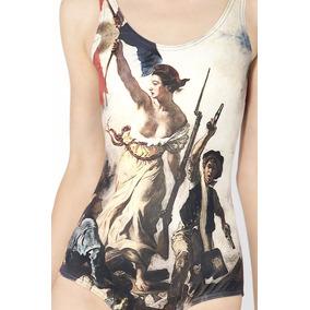 Traje De Baño Arte Revolución Francesa Delacroix La Libertad