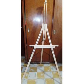 Caballete Plegable De Madera Multiposiciones Para Pintar