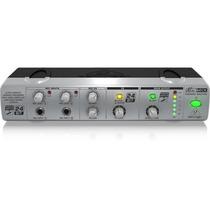 Multi Processador Karaokê Behringer Mini Mix800 2 Canais