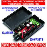 Control Pwm Para Celdas De Hidrogeno Hho