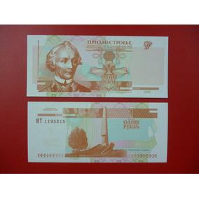 Transnistria Billete 1 Rublo Unc 2000 Pick 34