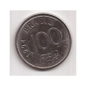 Brasil Moneda De 100 Cruzeiro Reais Año 1994