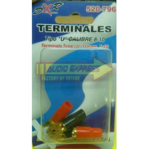 Terminales Con Forro Tipo U Calibre 10 520906