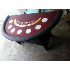 Mesa De Casino Tipo Las Vegas, Black-jack, Cubilete, Poker
