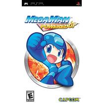 Mega Man Powered Up - Psp - Original - Lacrado - Nf