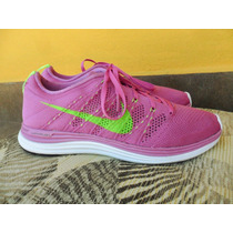 Tenis Nike Flyknit Lunar 1 (con Detalle) + Envio Dhl Gratis