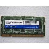 Memoria Ram Ddr2 512 Mb Laptop 1rx8 Pc2-5300-555-12 Adata So