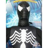 Muñeco Spiderman/hombre Araña Negro Soft Original