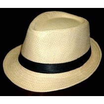 Chapéu Modelo Panamá Estilo Fedora Aba Curta Modelável