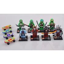 Tartarugas Ninjas Bonecos De Montar Com Acessórios