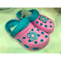 Sandalias T Crocs Zapatos Bands Baya Para Niñas.! En Remate