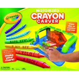 Brinquedo Crayola Motorized Crayon Carver Giz Personalizado