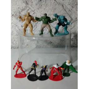 Lote Super Heróis Marvel C/ 8 Miniaturas - Promoção!