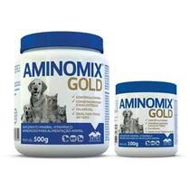 Aminomix Pet Gold - 100gramas - Melhor Produto Cães