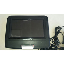 Dvd Portátil Powerpack Mod. Dvd.tv7328 (sem Controle Remoto)