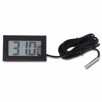 Termómetro Digital Con Cable Sensor P/refrigerador - Peceras