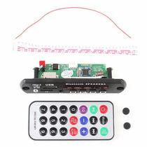 Placa P/ Caixa Ativa Leitor De Usb Mp3 Bluetooth P2 Frontal