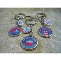 25 Llaveros Personalizados, Doble Medallas,souvenirs!