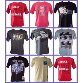Kit C/30 Camisetas De Marca Top Camisa Barata Revenda Lucre