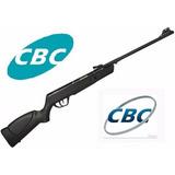 Carabina Chumbinho De Pressão Cbc Jade 5,5mm - Preta + Rifle