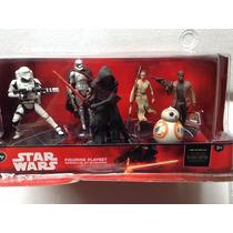 Star Wars El Despertar Fuerza Set 7 Figuras Disney Store