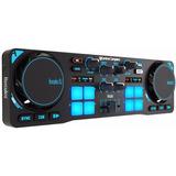 Consola Hercules Dj Control Compact Usb Virtual Mixer Mp3