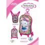 Kit Mochilete + Lancheira Hello Kitty, Max Toy 3d