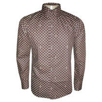 Camisa Social Louis Vuitton - Quadriculada + Frete Grátis