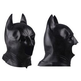 Máscara Batman Disfraz Halloween Cosplay Juego Latex
