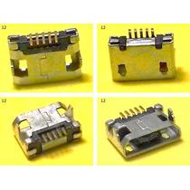 Conector Micro Usb V8 Centro Carga Htc Nokia Sony Tablet -12
