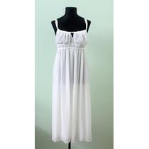 Liquido Vestido Blanco Oscar De La Renta Casamientos