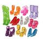 Gem 10 Pares De Zapatos Le Queden Muñeca Barbie Dolls (exact