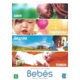 Dvd Bebês Amor Travessura Aventura Alain Chabat Original