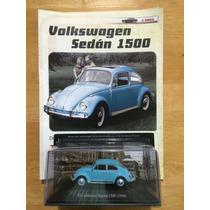 Grandes Autos Memorables Vw Vocho Volkswagen Sedán (1968) .