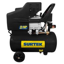 Surtek Compresor Lubricado De Aire 25lt 2 Mod:comp425a