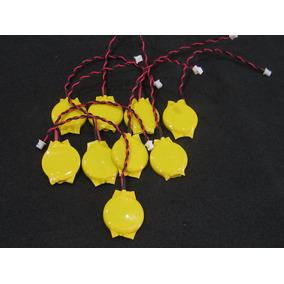 Bateria Pilha Bios Cmos 3v Cr2032 Placa Mãe Notebook 2 Pinos