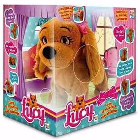Perrita Interactiva Lucy Mascota Obediente 15 Acciones Orig.
