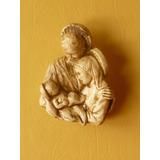 Sagrada Familia Para Colgar Lisa Imagen Religiosa Yeso