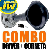 Driver Jbl Selenium 250 X+ Corneta + Capacitor Kit Mundojw