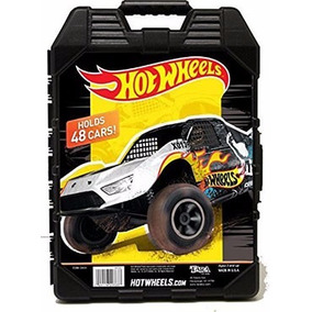 Hot Wheels 48 Car Case Estuche Carros Autos 1:64 Scale Malet