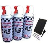 Genérica De Aire Comprimido Duster 10oz 3-packs (con Un So