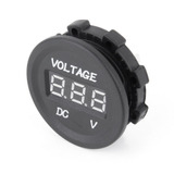 Voltimetro Digital 12v-24v Cc Impermeable Para Auto Moto Lan