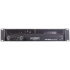 Crest Cpx 900 Amplificador Potencia Audio 900w En 2 Ohms