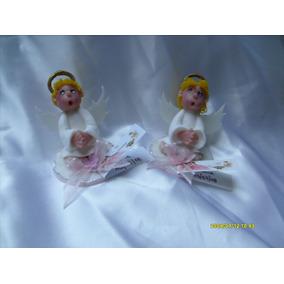 Souvenirs Angelitos En Porcelana Fria Nacimiento,bautismo