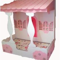 Cama Infantil De Casinha Pra Quarto Feminino - 170x80