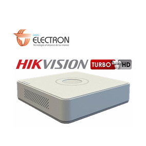 Dvr Hikvision Turbo Hd-tvi/analog/ahd Ds-7104hghi-f1 4 Canal